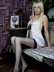 British Transsexual Posing O...