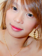 Fit ladyboy Natee puts to wo...