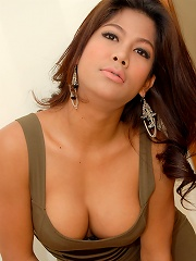 Yummy young ladyboy takes a ...