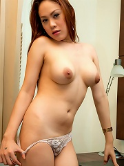 Ladyboy Tong in a little bla...