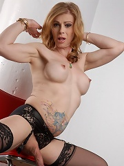 Sexy transsexual MILF posing...