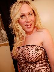 Seductive transsexual posing...